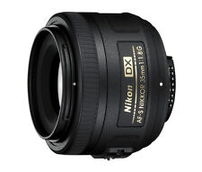 Nikon NIKKOR AF-S Fixed/Prime Focal 35mm Camera Lenses