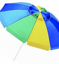 7.5' Beach Umbrella with Carry Bag