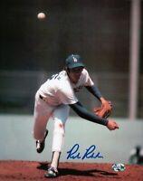 Rick Rhoden Signed 8X10 Photo Autograph Los Angeles Dodgers After Pitch Auto COA