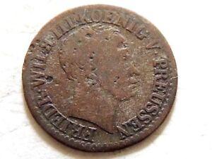 "1825 Germany ""Kingdom Of Prussia"" Half (1/2) Silver Groschen Coin"