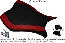 Diseño 2 Rojo Oscuro Y Negro Custom encaja Honda Cbr 1000 Rr 13-15 delantera cubierta de asiento