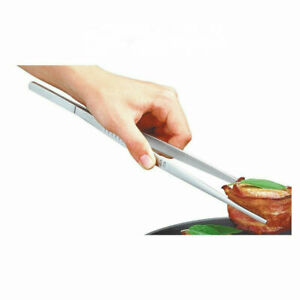 30 cm 12in Chef Plating TWEEZERS Tongs Serving Presentation Offset Bar Tweezers