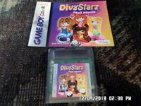 Diva Starz: Mall Mania (Nintendo Game Boy Color, 2000) GBC w/ Instruction Manual