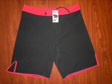 NWT Epic Gear MMA Black Fight Shorts Training Mens Size 36 Inseam 10""