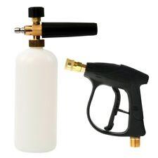"Adjustable Foam Wash Gun Car Wash Gun Snow Foam Lance With 1/4"" Quick Connector"