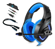 ONIKUMA K1 Stereo LED Gaming Headset for PS4 New Xbox One PC Laptop with Mic