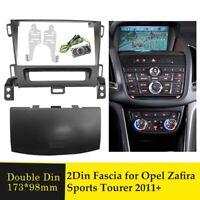 Car Stereo Radio Fascia Panel Trim Kit 2 Din Frame for OPEL Zafira Sports Tourer