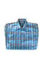 Envoy Men's Vintage 1950s Bowling Shirt Short Sleeves Single Stitch Size Med