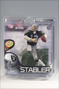 McFarlane Toys Action Figure Ken Stabler - Oakland Raiders, Home Jersey New