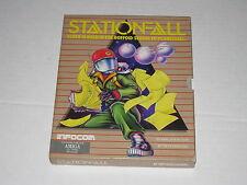 Stationfall (Amiga, 1987) Rare Vintage Infocom