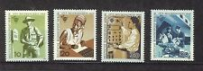 ALEMANIA BERLIN GERMANY 1969 MNH SC.9N276/279 Post office trade union