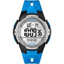 TIMEX MARATHON DIGITAL SPORT WATCH | NEW BLUE TW5M06900 QUARTZ CHRONO RRP £45