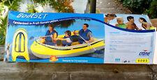 Crane Familienboot für 3 Personen (250 kg) mit Paddel