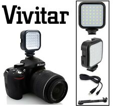 Rechargeable LED Light With kit for Sony Alpha A6000 ILCE-6000 NEX-3N NEX-7