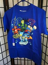 Lego DC Super Heroes Size 2XL 18 Multi-Color Short Sleeve Tee Shirt NWT