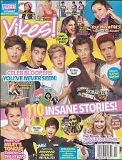 Yikes Magazine One Direction Miley Cyrus Demi Lovato Austin Mahone Ariana Grande