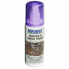 Nikwax Nubuck & Suede Proof Spray Waterproofs Maintains Breathability 125ml