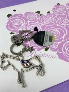 Brighton Patriot Donkey Handbag Charm Key fob  NWT $40