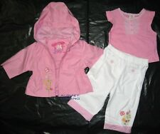 BNWT Gymboree Girls kids winter Outfit Coat Jacket Top pants set 18months