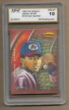 1994 Ted Williams Company #DG3 Derek Jeter Yankees Hall of Famer Gem Mint 10