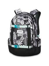 Dakine Womens Backpack - Mission 25L Hibiscus Palm - Bag Pack Black White