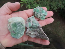 Q299 Lucin Variscite Green Turquoise rough slab cab cabbing trim Damele type?