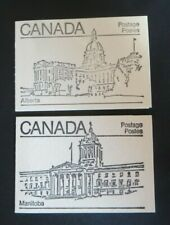 """CANADA STAMPS #BK82 + 82A  MINT 1982 """"MAPLE LEAF ISSUE """" UPPER/LOWER LABELS"""