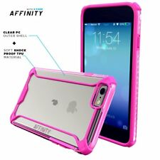 For iPhone 6S Plus / 6 Plus | [Slim Thin] TPU Bumper Shockproof Pink Case Cover