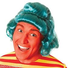 Umpa Lumpa Wig Green Wig Chocolate Factory Worker Wig Green Fancy Dress Wig