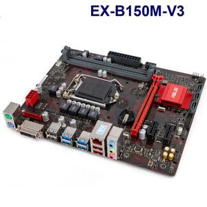 Motherboard For Asus EX-B150M-V3 LGA1151 DDR4 Intel B150  DDR4 M-ATX USB3.0