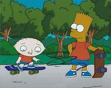 Seth Macfarlane Family Guy Stewie Bart Hand Signed 8x10 Photo Autographed COA