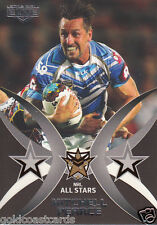 2015 NRL ELITE ALL STARS CARD - AS3 MITCHELL PEARCE SYDNEY ROOSTERS #009 OF 100