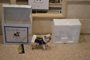 December Diamonds Spencer Dog ornament 2006 retired RARE HTF (M)