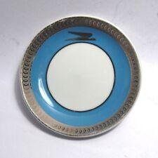 """Vintage 1953 3"""" (8cm) Argentine Airlines Verbano Porcelain Nut Dish / Saucer"""