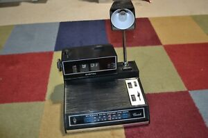 VTG 1970's Cariole AM/FM Weather Radio/Lamp/Flip Clock PARTS REPAIR AS-IS 19405
