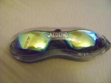 Aegend Swimming Goggless Black One Size Anti Fog UV Protecion Aqua No Leaking