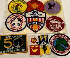 Boy Scout Badges Set Of 9 1963 1976 Vintage