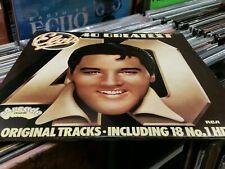 Elvis Presley – 40 Greatest Hits 2 × Vinyl LP Compilation 1975 Arcade