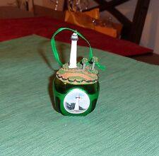 Danbury Mint BILOXI The Lighthouse Jingle Bell Ornament