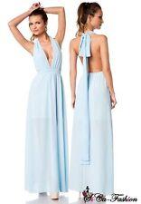 Markenlose bodenlange Damenkleider aus Polyester für Cocktail-Anlässe