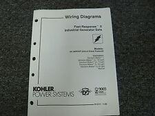 Kohler diesel generator ebay kohler model 20 thru 180 rozp generator set electrical wiring diagram manual asfbconference2016 Choice Image