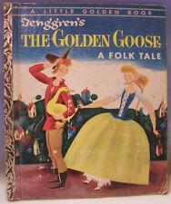BEDTIME STORIES, GOLDEN GOOSE & JACK AND THE BEANSTICK –Tenggren – LGB 1954