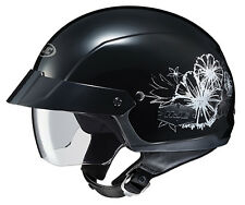 HJC Womens IS-Cruiser Blush Street Bike Motorcycle Half Helmet MED Black