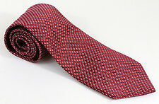 """G.H. Bass & Co. Mens Tie, NWOT, Red, White Blue, 100% Silk, 60""""L 3.5""""W"""