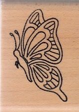 """New listing butterfly 9030E holly be 00003756 rry house Wood Mounted Rubber Stamp 1 3/4 x 1 1/4"""""""