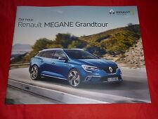 Renault megane grandtour life experience intens Bose Edition GT line folleto