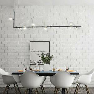 Large Chandelier Lighting Glass Pendant Light Black Ceiling Lights Modern Lamp