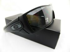 Oakley BATWOLF Sunglasses Matte Black - POLARISED Grey Lens + BONUS OAKLEY ICONS