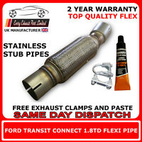Ford Transit Connect 1.8TD Exhaust Repair Flex Flexi For Catalytic Pipe, 321893