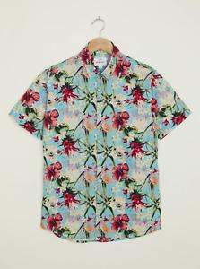Peter Werth New Mens Vauxhall SS Shirt - All Over Print